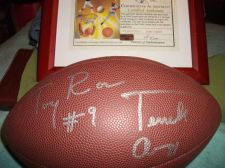Buy Certified-Authentic Signatures of TWO Dallas Cowboys on Football w.Certificate
