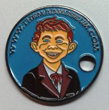 Buy PATHTAG #26232 THE MAD MUSEUM - MAD MAGAZINE ALFRED E NEUMAN GEOCOIN CACHE