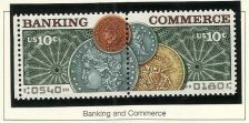 Buy US 1578 Banking and Commerce 10c set MNH 1975 - US Stamp in Quality Mount