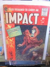 Buy IMPACT #2 EC COMICS art by Jack Davis, Crandall 1950's original 1st print