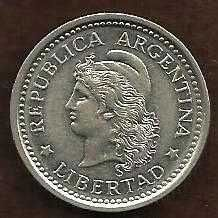 Buy 1960 Argentina 1 Peso World Coins
