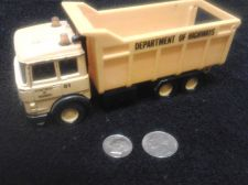 Buy MATCHBOX SUPERKINGS K-139 DEPT OF HIGHWAYS TRUCK Dumping mechanism/turning wheel