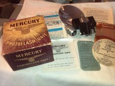 Buy Vintage Mercury Flash Unit Photoflash Cat. No. M-29