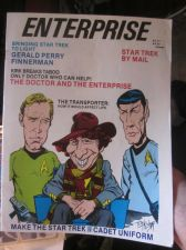 Buy ENTERPRISE #4 October 1984 Masgazine STAR TREK pro zine with other film and tv