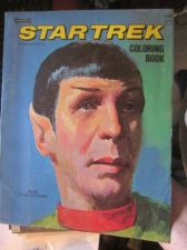 Buy Star Trek Coloring Book Authorized Edition OLD VINTAGE