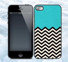Buy iPhone 5/5g and 4/4s - Chevron Mint cases