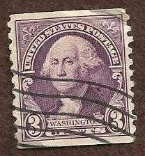 Buy US -1932 - 3 Cents Deep Violet Washington Used