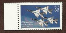 Buy 1997 32c U.S. Air Force 50th Anniversary Scott 3167 Mint