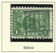 Buy 1914 Commemorative US Stamp Vasco Nunez de Balboa Used Panama Pacific Exposition