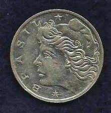 Buy 1970 Brazil 1 Cruzeiro Coin Liberty Head KM#581