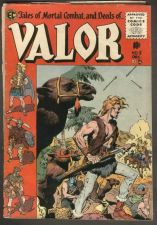 Buy VALOR #5 EC COMICS 1955 Covers split apart otherwise complete