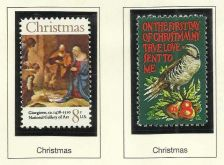 Buy 1971 Christmas Giorgione Art & First Day of Christmas US Mint Stamps