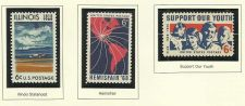 Buy 1968 Stamp Commemoratives Illinois Statehood/ Hemisfair '68/ Support our Youth