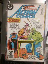Buy Action Comics #563 nice gloss and color VF 1st printing and series MXYZPTLK