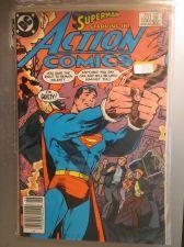 Buy Action Comics #556 SUPERMAN nice gloss and color NM 1984