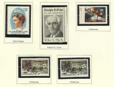 Buy 1976 Stamp Commemoratives Clara Maas/ Adoph Ochs /Christmas