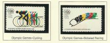 Buy 1972 Commemoratives Olympics Cycling & Bobsled US MINT STAMPS