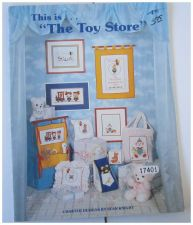 Buy This is the Toy Store Sean Knight Counted Cross Stitch Designs Book
