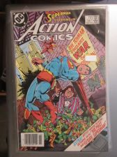 Buy Action Comics #561 SUPERMAN nice gloss and color 1984