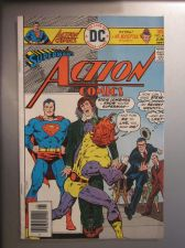 Buy Action Comics #460 SUPERMAN nice gloss & color 1976 1st series VG+/Fine
