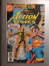 Buy Action Comics #525 SUPERMAN 1981 nice gloss & color 1st print, 1st series ever