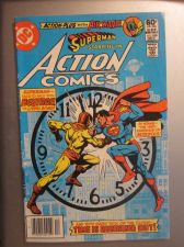 Buy Action Comics #526 SUPERMAN 1981 nice gloss & color 1st print, 1st series evers