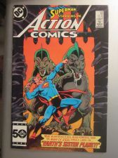 Buy Action Comics #576 SUPERMAN 1986 nice gloss & color 1st print, 1st series evers
