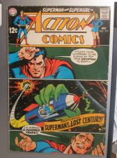 Buy Action Comics #370 SUPERMAN 1968 nice gloss & color 1st print, 1st series ever