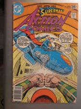 Buy Action Comics #482 SUPERMAN 1978 nice gloss & color 1st print, 1st series ever