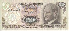 Buy Turkey 50 LIRASI Note 1970 Note - Beautiful UNC Note!