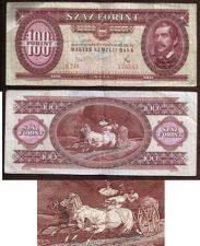 Buy Hungary 100 Forint 1975 Magayar Nemzeti Bank banknote 180343