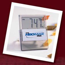 Buy Acrylic/Brushed Aluminum Alarm Clock - 12/24 HOUR. 2 for $9.99