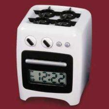 Buy Stove Shaped Plastic Alarm Clock