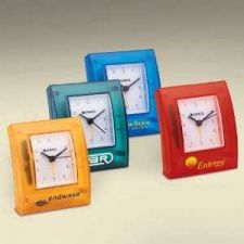 Buy Desk-top Alarm Clock, Transparent