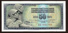 Buy Yugoslavia 50 Dinara – 1968 Banknote A01694755