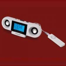 Buy IPOD or MP3 Amplifier Speaker with Clock