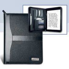 Buy Beautiful Combination of Lychee and Smooth Grain Leatherette Zipper Portfolio