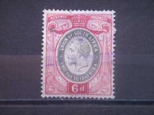 Buy SOUTH AFRICA, 1935, used 6d, Revenue, George V