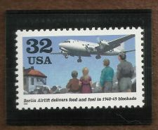 Buy Stamps U.S. 1998 Berlin Airlift Scott 3211 HISTORIC!