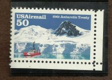 Buy USA US Stamps - Antarctic Treaty - UMM 1991 - PW 35A