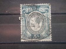 Buy SOUTH AFRICA, 1935, used 5sh, Revenue, George V