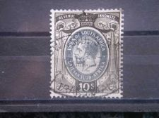 Buy SOUTH AFRICA, 1935, used 10sh, Revenue, George V