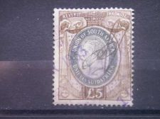 Buy SOUTH AFRICA, 1935, used £5, Revenue, George V