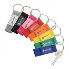 Buy Soft Nylon Strap Key Holder with Silicone Patch. 12 for $9.99