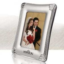 Buy Metal Photo Frame 5 x 7 Matte Chrome Finish