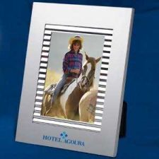 Buy Satin Finish 4 x 6 Aluminum Photo Frame w/Shiny Chrome. 2 for $9.99