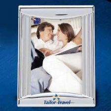 "Buy Chrome Plated 4"" x 6"" Photo Frame"