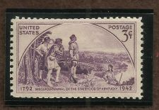 Buy 1942 Kentucky Sesquicentenial Issue