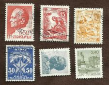 Buy YUGOSLAVIA Set of 6 Used