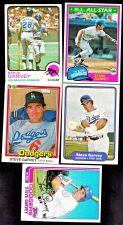 Buy Steve Garvey 5 NM Cards •••1973, 1981 Topps & Donruss, 1982 Topps &
